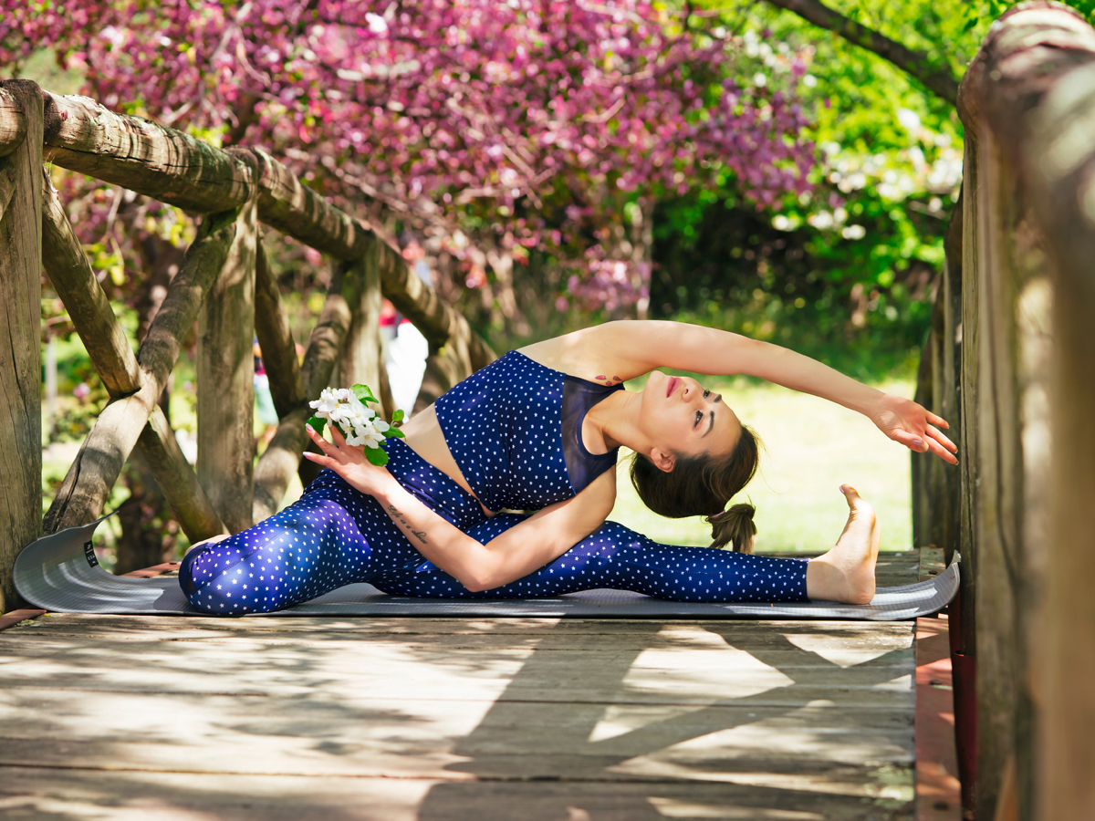 Morning yoga is perfect for good health