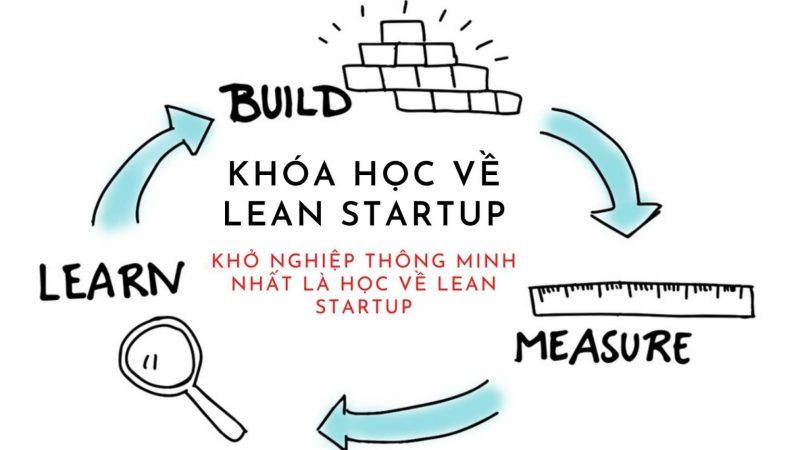 KHÓA HỌC LEAN STARTUP – Khởi nghiệp thông minh nhất là học về Lean startup